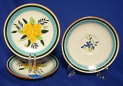 Stangl Pottery Country Garden 2 Bread Plates 1 Saucer