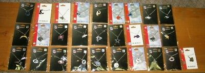 LICENSED NFL FOOTBALL NECKLACE WITH PENDANT 24 TEAMS