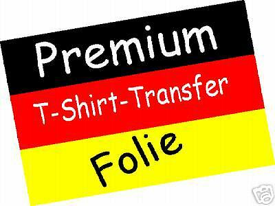 10 xTop-Premium T-Shirt Transferfolie Photoqualität NEU Made in Germany