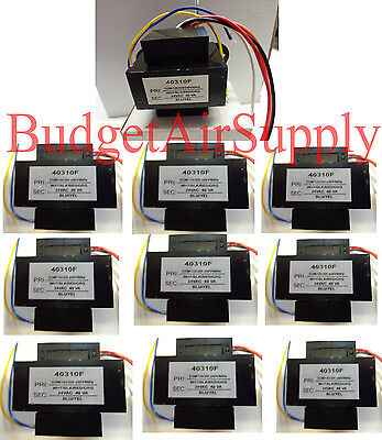 LOT 10 EA Universal 24 volt Transformer 120/208/240 40 VA 60Hz 40310F HVAC