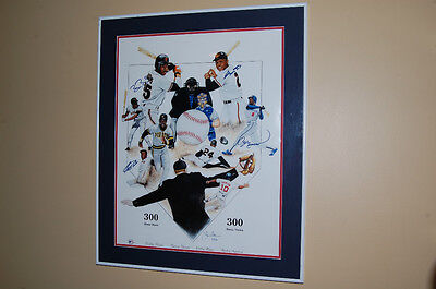 Autographed 300 Home Run/ 300 Stolen Bases Club Picture! MUST SEE!