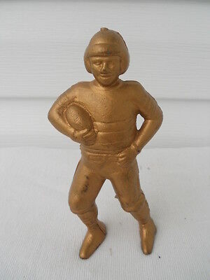 Early Cast Iron Football Player Still Bank