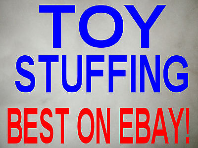 Toy Stuffing super Soft Polyester Fibre Filling 250 grams