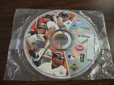 Baseball CD Post Cereal--Factory Sealed Pack---2003