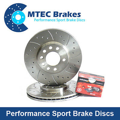 VW Passat Est 2.0TDi 4motion 08-09 Rear Brake Discs Kit