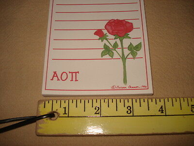 Alpha Omicron Pi New!! Things To Do Notepads