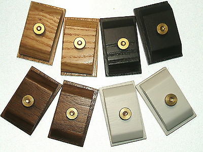 Small Mini Quilt Hang Ups Clips Clamps Hangers Wood Set 2 CHOOSE FINISH
