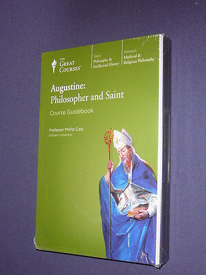 Teaching Co Great Courses CDs      AUGUSTINE  PHILOSOPHER  SAINT    new & sealed