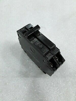 Ge General Electric Thqp250 New Circuit Breaker 2 Pole  50 Amp 240 Vac