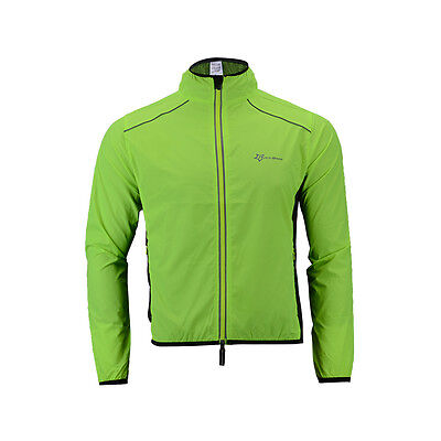 RockBros Bike Bicycle Riding Cycling Wind Coat Raincoat Sport Jacket Green