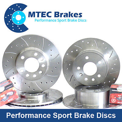 Peugeot 306 2.0 GTi-6 93-2000 Front Rear Brake Discs and Mintex Pads