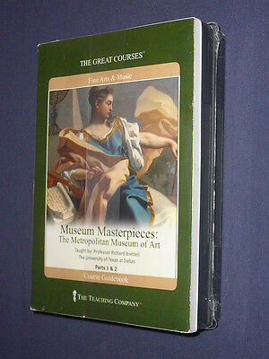 Teaching Co Great Courses DVDs :          THE METROPOLITAN MUSEUM  OF ART sealed