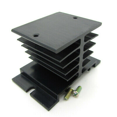 Heat Sink For SSR Solid State Relay Black