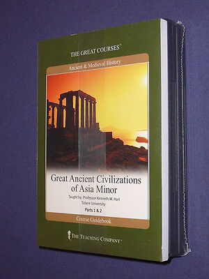 Teaching Co Great Courses DVDs    GREAT ANCIENT CIVILIZATIONS of ASIA MINOR  new