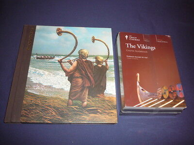 Teaching Co Great Courses CDs :       THE  VIKINGS                new + BONUS