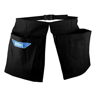 Double Pocket Pouch with Scraper Holster