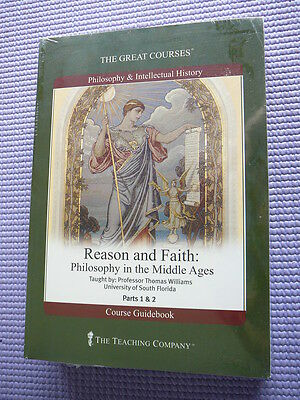 Teaching Co Great Courses DVDs          REASON and FAITH        new & sealed