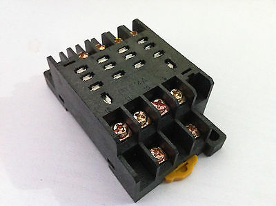 PTF14A Relay Socket Base For LY4NJ  HH64P-L Power Relay