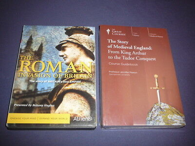 Teaching Co Great Courses DVDs         STORY OF MEDIEVAL  ENGLAND    new + BONUS