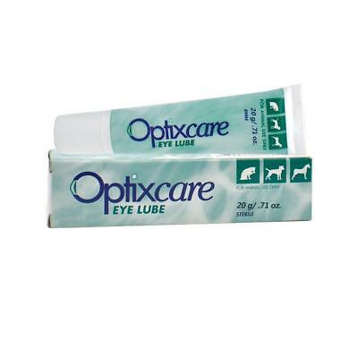 Optixcare Eye Lube Lubricant for Dogs & Cats (20 gram)