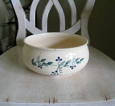 Brush McCoy Pottery ArtWare Collection Bowl #8111 Signed MT Maria Toth c1981