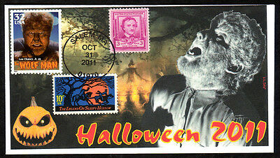 Jvc Cachets - 2011 Ultimate Halloween Event Cover Famous Universal Monsters #5