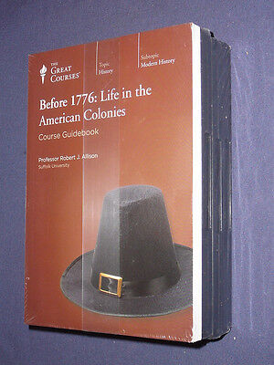 Teaching Co Great Courses CD   BEFORE 1776 Life in the American Colonies + BONUS