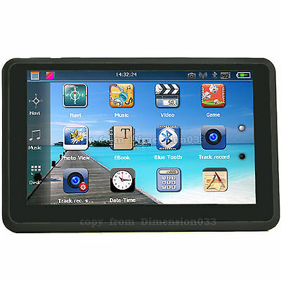 """Car Video Recorder 5"""" Bluetooth GPS Touch Screen Built in Vehicle Camera DVR 4GB"""