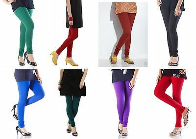 10 Leggings Churidar Wholesale Lot For Indian Kurti Top Tunic Kameez Salwar