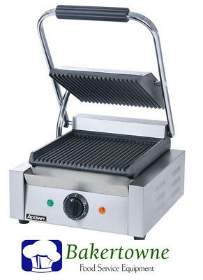 Commercial Panini Press Sandwich Grill NEW With Warranty ADCRAFT SG-811  NSF