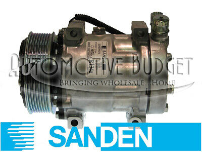 Sanden 4321, 4822 Compressor w/Clutch - NEW OEM