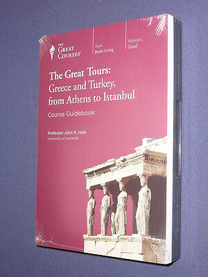 Teaching Co Great Courses Tours DVD  GREECE TURKEY ATHENS ISTANBUL   new