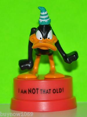 """Looney Tunes Daffy Duck Figure 3"""" Tall Cake Topper 1994 New Hard To Find"""