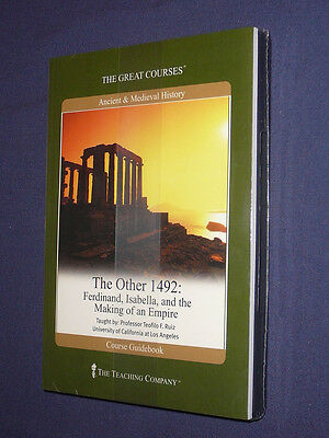 Teaching Co Great Courses  DVDs         THE  OTHER  1492          new & sealed