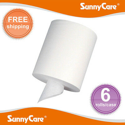 6 Rolls Center Pull Paper Towels 2-Ply 320sheets/roll