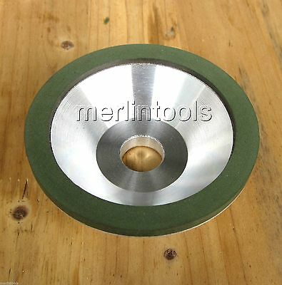 100mm Diamond Grinding Wheel Cup Grit 400 / Cutter Grinder