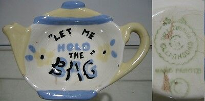 1940's~Let Me Hold The Tea Bag~The California~Cleminson