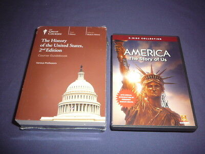 Teaching Co Great Courses DVDs       HISTORY OF THE UNITED STATES    new + BONUS
