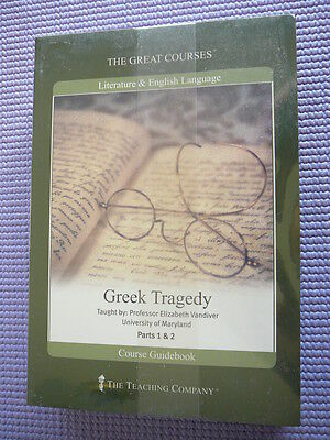 Teaching Co Great Courses  DVDs  :           GREEK  TRAGEDY      new & sealed