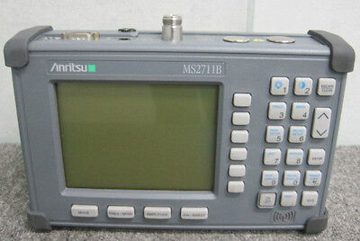 $ Anritsu_MS2711B: Spectrum Analyzer
