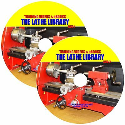 How to Run a Lathe + Lathe Library: Turning,Metal Spinning,South Bend Works / CD