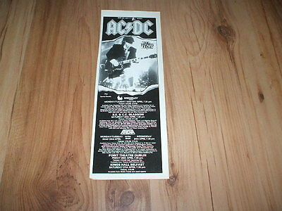 AC/DC-1990 magazine advert