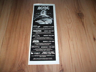 AC/DC-1996 magazine advert