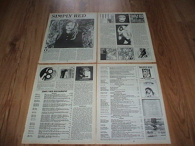 Simply red-1995 magazine article