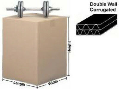 """30 X-LARGE DOUBLE WALL Cardboard Stock Boxes 30x18x12/"""" Removal Moving Storage"""