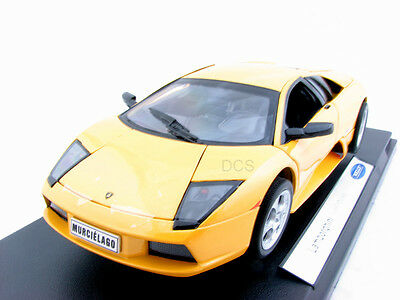 Welly  Lamborghini Murcielago Orange / Yellow 1/18 Diecast Car