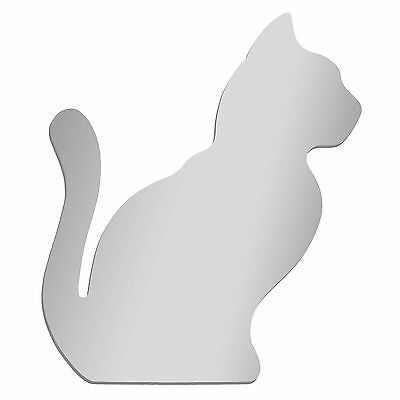 CAT PROFILE  Wall Mounted Acrylic Mirror  -  12 inch
