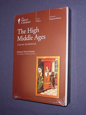 Teaching Co Great Courses  CDs         THE HIGH MIDDLE AGES      new & sealed