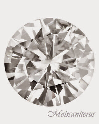 Loose Round Forever Classic 12mm Moissanite = 6 Carat Diamond with Certificate