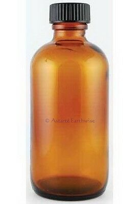 AMBER BOTTLE WITH CAP120ml Wicca Aromatherapy Oil Spell Pagan Witch Goth Punk